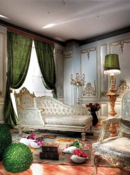 Кушетка Asnaghi Interiors Valery GD5311