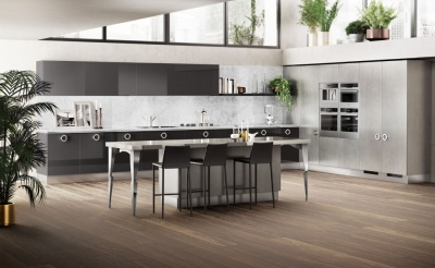 Кухня Scavolini Prestige White Exclusiva